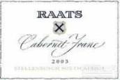 Raats Cabernet Franc,Stellenbosch,South Africa