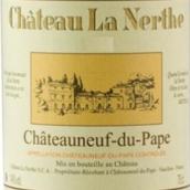 拿勒酒庄干红葡萄酒(Chateau La Nerthe Rouge,Chateauneuf du Pape,France)