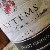 八月岭灰皮诺干白葡萄酒(August Ridge Vineyards Pinot Grigio,Paso Robles,USA)