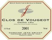 让·格里沃(伏旧特级园)干红葡萄酒(Domaine Jean Grivot Clos de Vougeot Grand Cru,Cote de Nuits,...)
