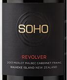 苏胡轮转梅洛混酿红葡萄酒(Soho Revolver Merlot of Blend,Waiheke Island,New Zealand)
