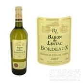 雷思塔伯爵酒庄干白葡萄酒(Baron de Lestac Blanc, Bordeaux, France)