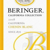 贝灵哲加州收藏系列白诗南干白葡萄酒(Beringer California Collection Chenin Blanc,California,USA)
