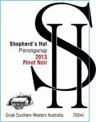 牧羊人之屋黑皮诺红葡萄酒(Shepherd`s Hut Pinot Noir, Great Southern, Australia)