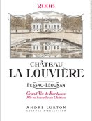 拉罗维耶酒庄安祖路登干红葡萄酒(Vignobles Andre Lurton Chateau La Louviere, Pessac-Leognan, France)
