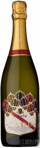 黛伦堡父辈霞多丽-黑皮诺-皮诺莫尼耶起泡酒(d'Arenberg Dadd Chardonnay-Pinot Noir-Pinot Meunier ...)