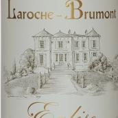 """布鲁蒙拉罗齐""""教堂""""干红葡萄酒(Alain Brumont Laroche-Brumont Eglise,Madiran,France)"""