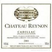 瑞隆酒庄卡迪拉克干白葡萄酒(Chateau Reynon Cadillac,Entre-Deux-Mers,France)
