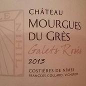 莫尔格斯酒庄佳蕾特桃红葡萄酒(Chateau Mourgues du Gres Costieres de Nimes Galets Roses,...)