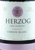 赫尔佐克酒庄晚收白诗南干白葡萄酒(Herzog Wine Cellars Late Harvest Chenin Blanc,California,USA)