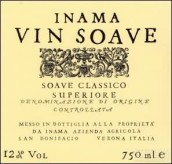 爱娜玛经典苏瓦韦干白葡萄酒(Inama Vin Soave Classico,Veneto,Italy)