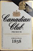 加拿大俱乐部优质1858加拿大威士忌(Canadian Club Premium 1858 Canadian Whisky, Ontario, Canada)