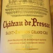 比萨酒庄干红葡萄酒(Chateau de Pressac,Saint-Emilion,France)