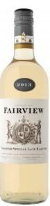 锦绣特选晚收维欧尼甜白葡萄酒(Fairview Special Late Harvest Viognier,Paarl,South Africa)