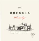 布雷西亚末叶混酿干红葡萄酒(Bodega Bressia Ultima Hoja,Mendoza,Argentina)