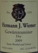 赫尔曼琼瑶浆干白葡萄酒(Hermann J. Wiemer Dry Gewurztraminer, Finger Lakes, USA)