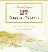 柏里欧海岸灰皮诺白葡萄酒(Beaulieu Vineyard BV Coastal Estates Pinot Grigio,California...)