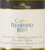 科佩尔酒庄卡普里斯普利门尼托贝洛白葡萄酒(Vinakoper Capris Plemenito Belo, Koper, Slovenia)