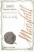玛利山庄主珍藏桑娇维塞干红葡萄酒(Maryhill Proprietor's Reserve Sangiovese,Columbia Valley,USA)