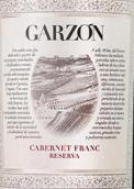 嘉颂酒庄珍藏品丽珠红葡萄酒(Bodega Garzon Reserva Cabernet Franc, Maldonado, Uruguay)