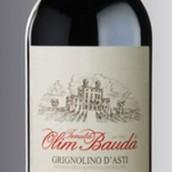 奥林保达伊索拉园格丽尼奥里诺干红葡萄酒(Tenuta Olim Bauda Isolavilla Grignolino d'Asti,Asti,Italy)