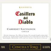 干露红魔鬼珍藏赤霞珠干红葡萄酒(Concha y Toro Casillero del Diablo Reserva Cabernet ...)
