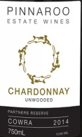 平纳鲁酒庄霞多丽白葡萄酒(未经橡木桶)(Pinnaroo Estate Wines Chardonnay(Unwooded),Cowra,Australia)