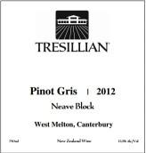 特雷斯利安灰皮诺干白葡萄酒(尼夫区)(Tresillian Wines Pinot Gris(Neave Block),West Melton,New ...)