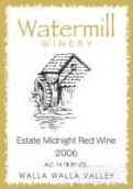 Watermill Winery Estate Midnight Red, Walla Walla Valley, USA