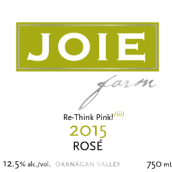 喜悦酒庄桃红葡萄酒(Joie Farm Rose,Okanagan Valley,Canada)