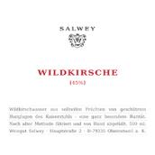 萨尔维酒庄龙椅顶级稀有野樱桃白兰地(Weingut Salwey Wildkirschwasser Top-Raritat Vom Kaiserstuhl,...)
