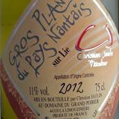 若兰大普隆南特地区干白葡萄酒(经酒泥接触)(Christian Jaulin Gros Plant du Pays Nantais Sur Lie,Loire ...)