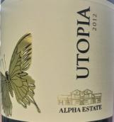 阿尔法庄园乌托邦丹娜红葡萄酒(Alpha Estate Utopia Tannat, Amyndeo, Greece)