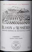 奥希耶徽纹干红葡萄酒(Blason d'Aussieres,Corbieres,France)