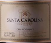 圣卡罗酒庄家族珍藏霞多丽白葡萄酒(Santa Carolina Reserva de Familia Chardonnay, Itata Valley, Chile)