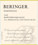 贝灵哲夜莺甜白葡萄酒(Beringer Nightingale, Napa Valley, USA)