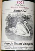 约瑟夫斯旺兄弟园仙粉黛干红葡萄酒(Joseph Swan Vineyards Frati Ranch Zinfandel,Russian River ...)