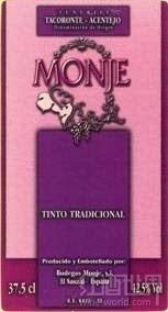 蒙赫传统干红葡萄酒(Bodegas Monje Tradicional,Tacoronte-Acentejo,Spain)