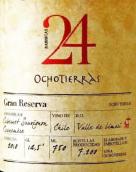 奥科泰拉斯24桶特选珍藏赤霞珠-佳美娜混酿干红葡萄酒(Vina Ochotierras 24 Gran Reserva Cabernet Sauvignon ...)