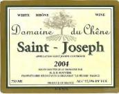 Domaine du Chene Saint-Joseph Blanc,Rhone,France