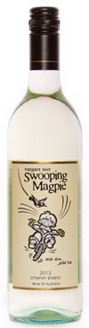 降鹊白诗南干白葡萄酒(Swooping Magpie Chenin Blanc,Margaret River,Australia)