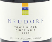 鲁道夫酒庄汤姆园黑皮诺红葡萄酒(Neudorf Tom's Block Pinot Noir,Nelson,New Zealand)