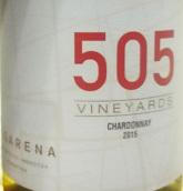 卡萨雷娜酒庄505霞多丽干白葡萄酒(Casarena 505 Vineyards Chardonnay, Mendoza, Argentina)