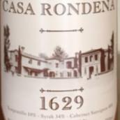 隆达纳1629系列混酿干红葡萄酒(Casa Rondena 1629,New Mexico,USA)