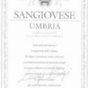 比其桑娇维塞干红葡萄酒(Bigi Sangiovese,Umbria,Italy)