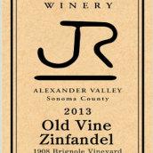里卡兹老藤仙粉黛干红葡萄酒(J.Rickards Winery Old Vine Zinfandel,Alexander Valley,USA)