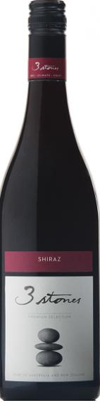 三石西拉干红葡萄酒(3 Stones Shiraz,Marlborough,New Zealand)