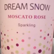 梦德斯诺莫斯卡托桃红葡萄酒(Dream Snow Moscato Rose,Piedmont,Italy)