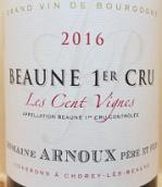阿诺父子酒庄圣维尼(伯恩一级园)红葡萄酒(Domaine Arnoux Pere Et Fils Les Cents Vignes, Beaune 1er Cru, France)