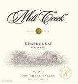 米尔溪霞多丽干白葡萄酒(未经橡木桶)(Mill Creek Vineyards&Winery Unoaked Chardonnay,Dry Creek ...)